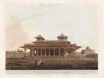 Allahabad: Rani-ka-Mahal or Queen's pavilion within the palace at the Fort of Allahabad.