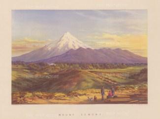 Mount Taranaki (Mount Egmont) from the Puketotara road.