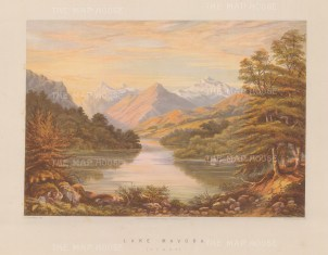 Lake Mavora. View towards the Livingstone and Thomson Mountains.