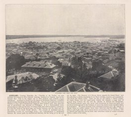 "Meisenbach &Co.: Auckland. c1910. An original antique photo-lithograph. 10"" x 7"". [NWZp301]"