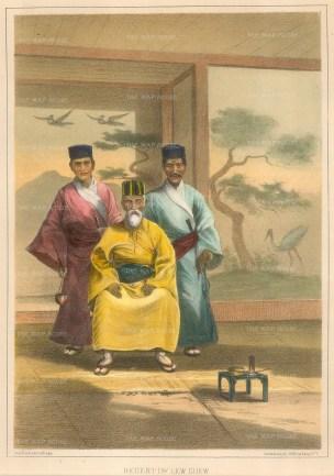 Regent of Lew Chew (Okinawa) Island.