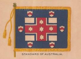 "BDV Cigarettes: Australia. c1900. Original printed colour on silk. 6"" x 4"". [ARMp159]"