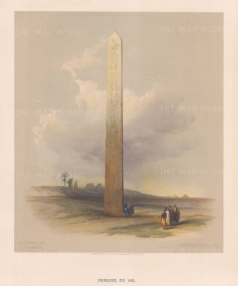 Cairo: Obelisk of On: On the site of the ancient city of Heliopolis.
