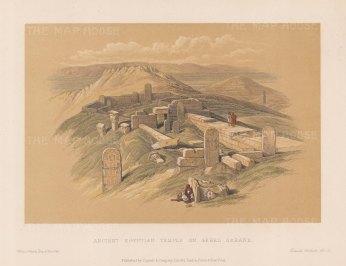 Gebel Garabe: Temple of Hathor (Serabit el-Khadim).