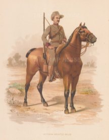 Victorian Mounted Rifles. Australia.