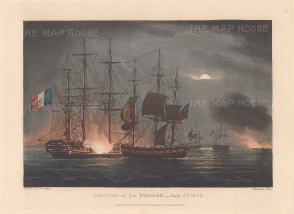 By the sloop HMS Dart. French Revolutionary Wars.