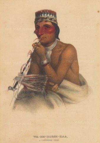 Wa-Em-Boesh-Kaa: A Chippewa Chief.