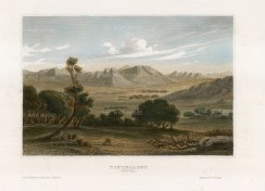 "Meyer: Tintalust, Niger. 1841. A hand coloured original antique steel engraving. 7"" x 5"". [AFRp1387]"