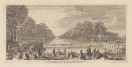 Fountainbleau: View of the Grande Canal.