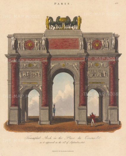 Arch de Triomphe: Engraved by Thomas Dale