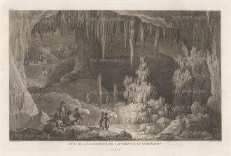 "Gouffier: Antiparos. 1782. An original antique copper engraving. 16"" x 10"". [GRCp885]"