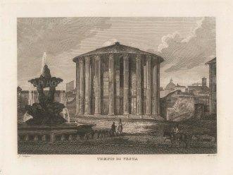 Temple of Vesta, Porta Maggiore.