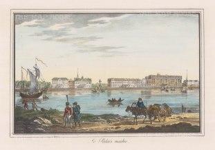 "Alexandriev: Orlov Palace, St Petersburg. 1828. A hand coloured original antique lithograph. 16"" x 12"". [RUSp438]"