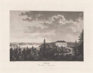 Husby: The Mansion House on the coast of Sondermanland.