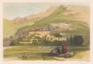 Malaga: Convento los Angeles y de la Huerta.