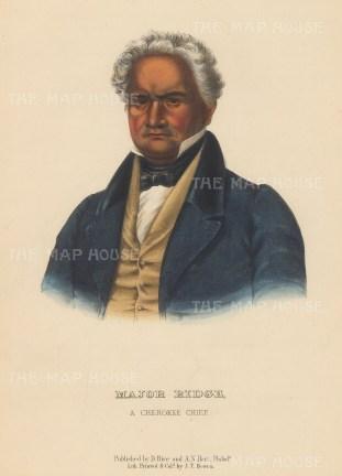 Major Ridge: A Cherokee Chief.