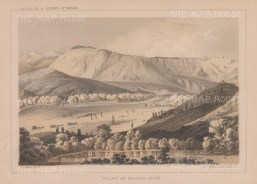 "U.S.P.R.R. Exp.: Williams River Valley, Arizona. 1857. An original colour antique lithograph. 10"" x 7"". [USAp4926]"