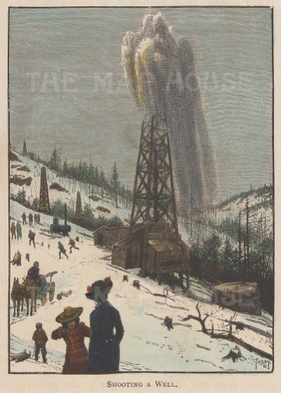 Oil: Shooting a Well after Henry Farny