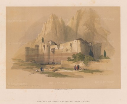 Mount Sinai, the convent of Saint Catherine.