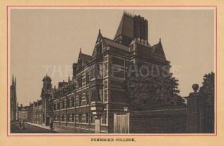 View along the front facade.