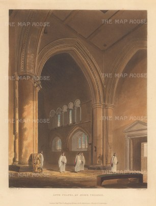 Interior of the ante chapel.