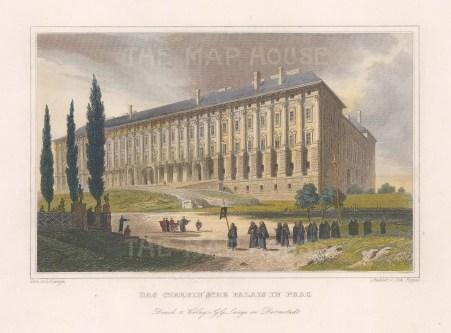 The Czernin Palace.