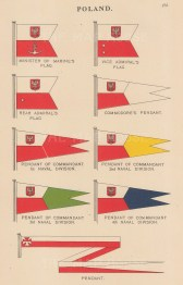 "Malby & Sons: Poland. c1930. An original vintage chromolithograph. 6"" x 10"". [CEUp521]"