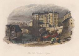 "Harding: Lyon. c1834. A hand coloured original antique steel engraving. 7"" x 5"". [FRp1589]"