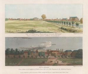 "Smith: St James's Park. 1804. A hand coloured original antique steel engraving. 12"" x 10"". [LDNp10200]"