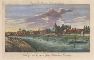 Isleworth from Richmond Gardens.