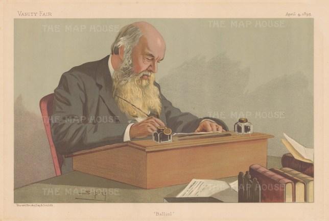 Balliol College Master: John Caird of Greenock. SPY.