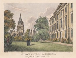 Viewed with part of Corpus Christi College showing.