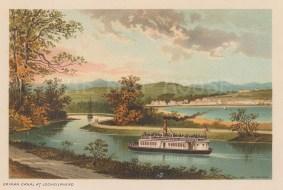 "Nelson: Loch Gilphead, Argyllshire. 1890. An original antique chromolithograph. 5"" x 3"". [SCOTp1583]"