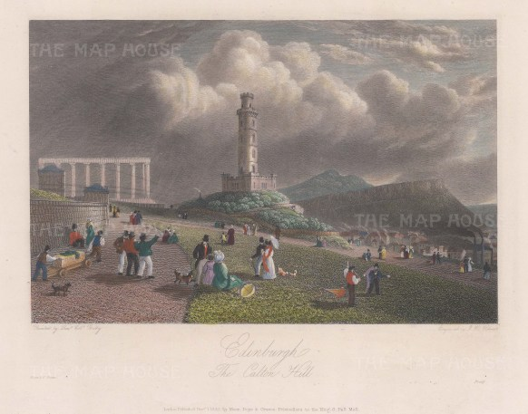 Nelson's monument.