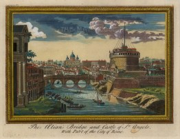 Alian Bridge and Castle of St. Angelo.
