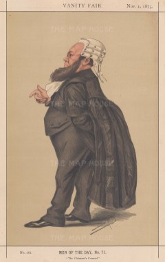 Claimant's Counsel. Edward Vaughan Keneally, best known for his defence of the claimant to the Tichborne estate. SPY