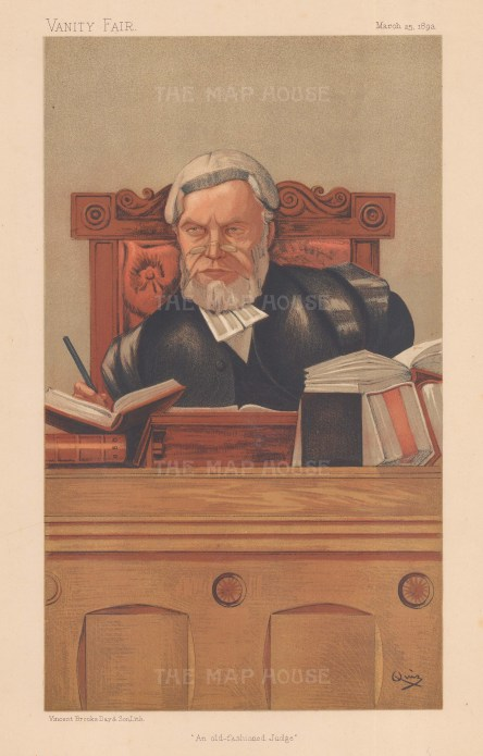 The Old Fashioned Judge. Baron Ludlow of Heywood, Lord Justice of Appeal. QUIZ