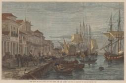 The quay at San Pedro de Rio Grande do Sul.