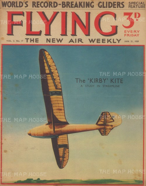 Kirby Kite record breaking glider.