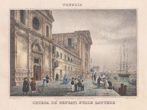 Venice: Santa Maria del Rosario (I Gesuati), on the Zattere canal.