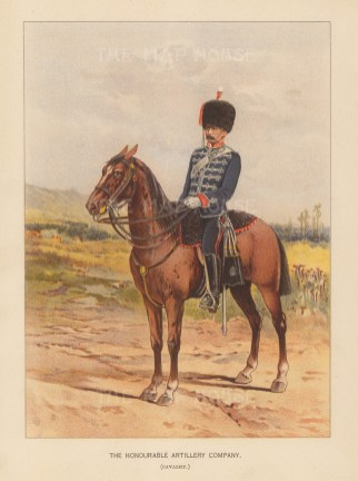 The oldest regiment in the British Army.
