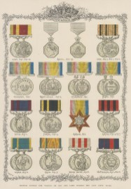 Sixteen medals awarded between 1842-1866 including the Crimea.