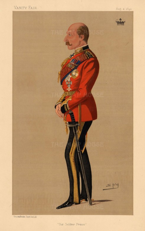 Prince Arthur served in the Army for 40 years in various parts of the Empire and was the King's representative for Canada during WWII.