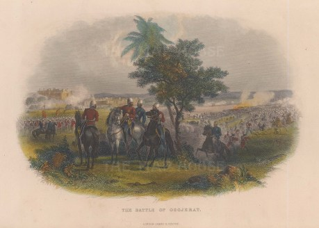 Battle of Goojerat.