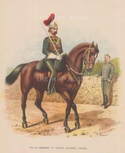 6th Regiment Hussars. Canada.