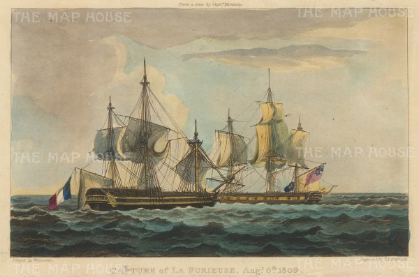 After battle with HMS Bonne Citoyenne under the command of Captain William Mounsey.