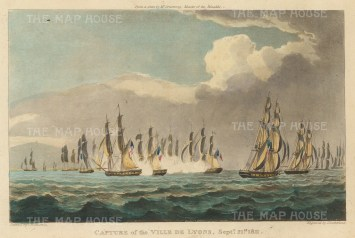 Resulting from the action against the Boulogne flotilla by Naiad, Rinaldo, Redpole and Castilian. 21st September 1811.