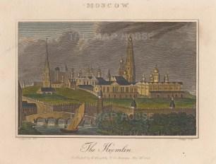 Kremlin from across the Moskva river.