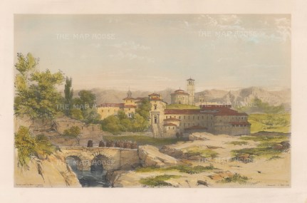 Convent of Santa Maria del Parral under the city walls.