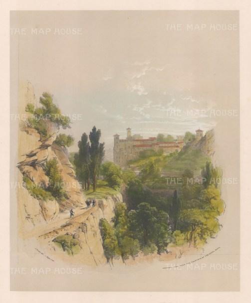 View near the Fountain of the Hazel Nuts(Fuente del Avellano).